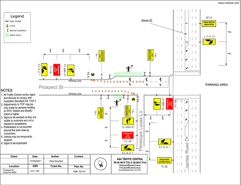 Traffic Control Plans  Traffic Management Plans  Aaa Traffic Control